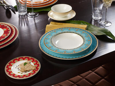 Hlboký tanier 24 cm Samarkand Aquamarin - 2