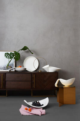 Dekoratívna misa 47 x 38 cm Classic Gifts white - 2