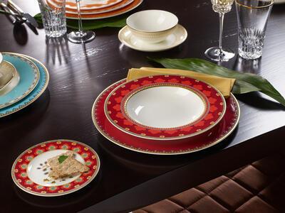 Hlboký tanier 24 cm Samarkand Rubin - 2