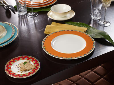 Plytký tanier 28 cm Samarkand Mandarin - 2