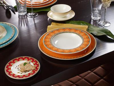Hlboký tanier 24 cm Samarkand Mandarin - 2