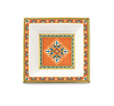 Miska štvorcová 10 x 10 cm Samarkand Mandarin - 2
