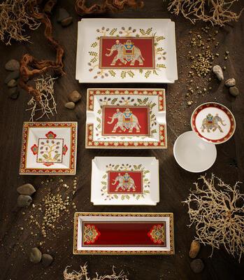 Dekoratívny tanier 28 x 21 cm Samarkand Rub. Gifts - 2