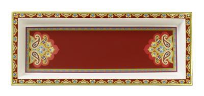 Miska obdĺžniková 25 x 10 cm Samarkand Rubin - 2