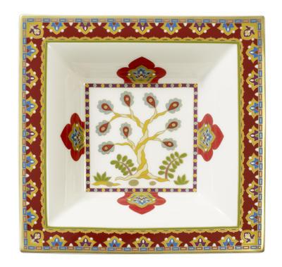 Miska štvorcová 14 x 14 cm Samarkand Rubin - 2