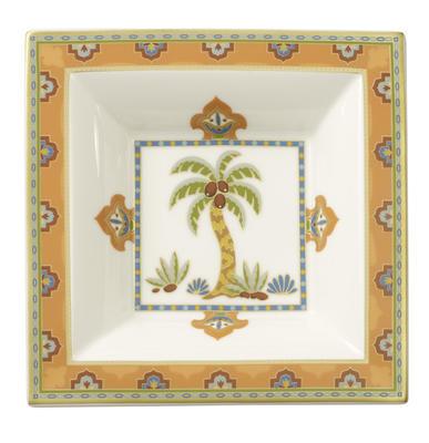 Miska štvorcová 14 x 14 cm Samarkand Mandarin - 2