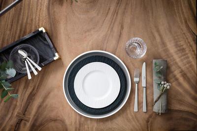 Dezertný tanier 22 cm Manufacture Rock blanc - 2