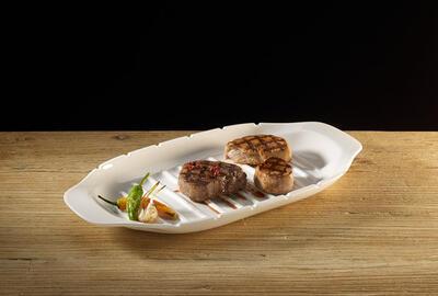 Servírovací tanier na špízy 42 x 22 cm BBQ Passion - 2