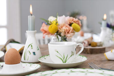 Váza / svietnik 10,5 cm Colourful Spring - 2