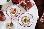 Misa, Santa s darčekmi, 25 cm Christmas Glass Acc. - 2/2