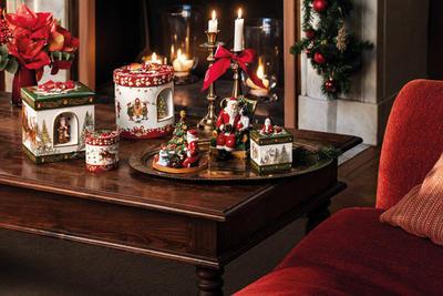 Hracia skrinka, okrúhly darček Christmas Toys - 2