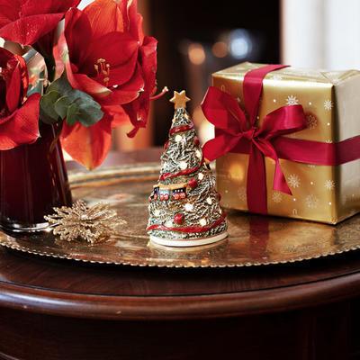 Svietnik, vianočná jedlička 16 cm Christmas Toys - 2