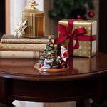 Svietnik, rozdávanie darčekov 14 cm Christmas Toys - 2/2