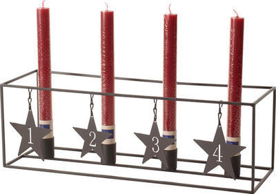 Kovový adventný svietnik 42 cm Christmas Toys - 2