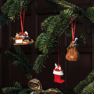 Závesné ozdoby, darčeky, 3 ks Nostalgic Ornaments - 2