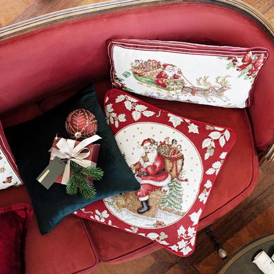 Vankúš, Santa na streche, 45 x 45 cm Toy's Fantasy - 2
