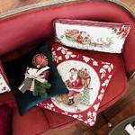 Vankúš, Santa na streche, 45 x 45 cm Toy's Fantasy - 2/2