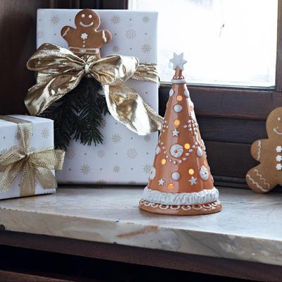 Svietnik, veľký stromček 21 cm Winter Bakery Dec. - 2