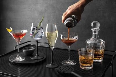 Pohár na šampanské 0,26 l, 4 ks Manufacture Rock - 2