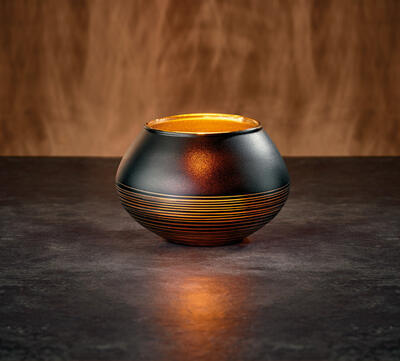 Svietnik na čajovú sviečku 7 cm Manufacture Swirl - 2