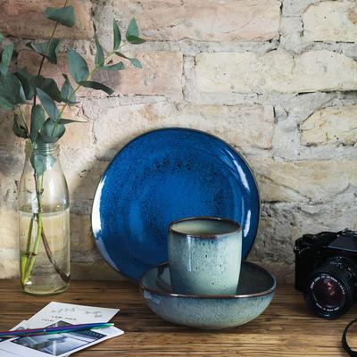 Dezertný tanier 23,5 x 23 cm Lave bleu - 2