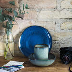 Dezertný tanier 23,5 x 23 cm Lave bleu - 2/2