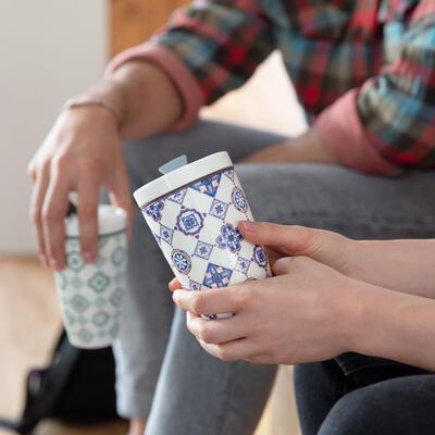 Hrnček na kávu so sebou 0,35 l To Go Indigo - 2