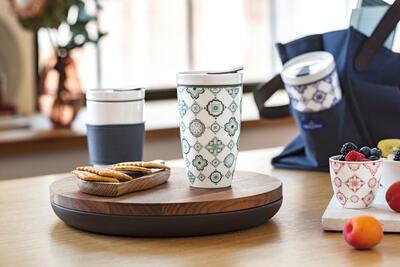 Hrnček na kávu so sebou 0,35 l To Go Jade - 2