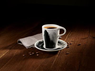 Hrnček na kávu s podšálkou 0,38 l Coffee Pa. Awake - 2