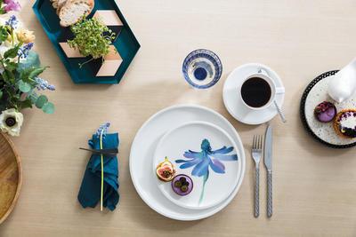 Dezertný tanier 22 cm Artesano Flower Art - 2