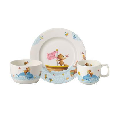 Detská jedálenská súprava, 3 ks Happy as a Bear - 2