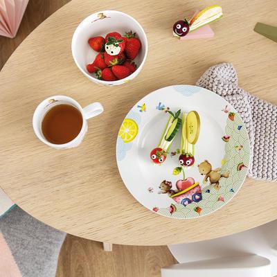 Detský plytký tanier 22 cm Hungry as a Bear - 2
