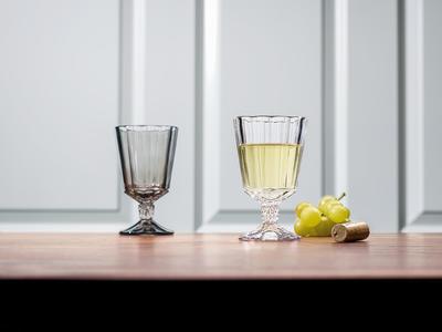 Pohár na biele víno 0,22 l, 4 ks Opéra Smoke - 2