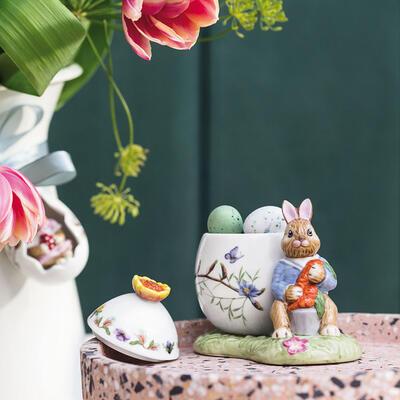 Dóza vajíčko, zajačik Max s mrkvami Bunny Tales - 2