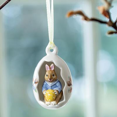 Závesná ozdoba, Max vo vajíčku 7 cm Bunny Tales - 2