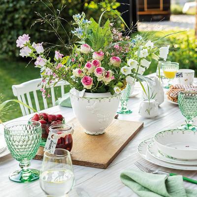 Váza široká 18 cm Colourful Spring - 2