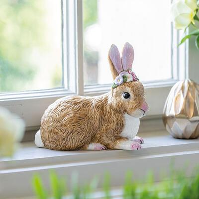 Ležiaci zajac 13 cm Easter Bunnies - 2