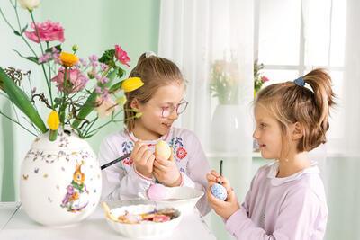 Váza vajce, Emma a Paul 21 cm Spring Fantasy - 2