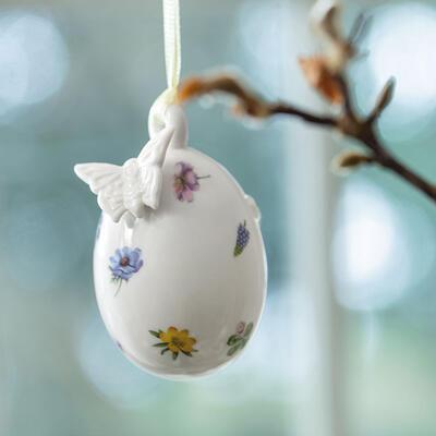 Závesné vajíčko, motýľ 7,5 cm Spring Fantasy - 2