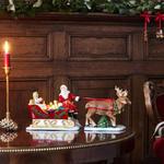 Svietnik, Santa na saniach 36 cm Christmas Toys - 2/2