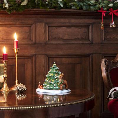 Svietnik, stromček a zvieratká 23 cm Christm. Toys - 2