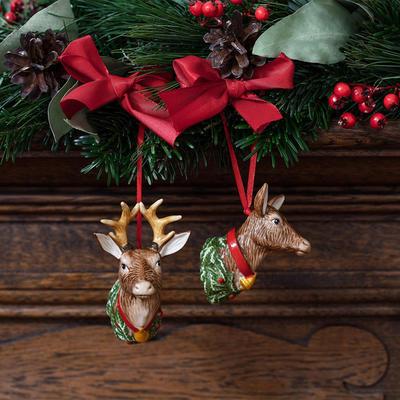 Závesná ozdoba, laň 6 cm My Christmas Tree - 2