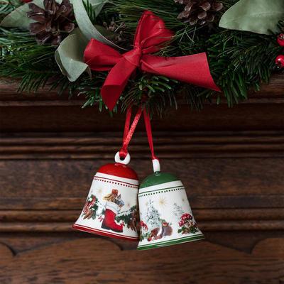 Závesný zvonček, zvieratá 7 cm My Christmas Tree - 2