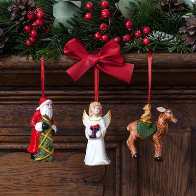 Závesné ozdoby, figúrky, 3 ks Nostalgic Ornaments - 2