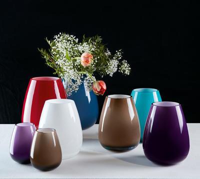 Váza mini, pure stone, 12 cm Drop Mini - 2