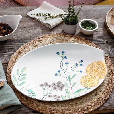 Oválny tanier 36 cm Flow Couture - 2
