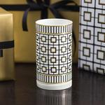 Svietnik na čajovú sviečku 13 cm MetroChic Gifts - 2/2