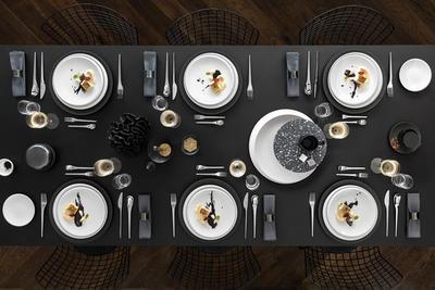 Bufetový tanier 32 x 32 x 2,5 cm NewMoon - 2