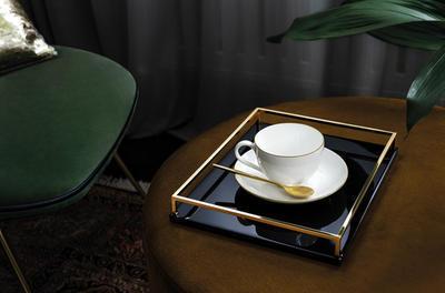Kávová šálka 0,20 l s podšálkou Anmut Gold - 2