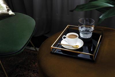 Espresso šálka 0,10 l s podšálkou Anmut Gold - 2
